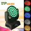 Newest 36PCS 15W RGBWA 5in1 Wash LED Moving Head