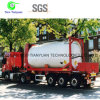 LNG 0.6-1.6MPa Working Pressure Light Weight Tank Semi-Trailer