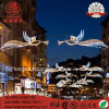 LED Holliday Star Angel IP65 Outdoor Across Street Pole Christmas Light for Decoration