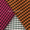 Twill Houndstooth Wool Fabric for Overcoat