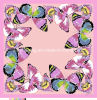 Ladies′ Fashion Digital Printed Silk Scarf