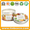 Candle Tin Can for Metal Gift Packaging Boxes, Travel Tins