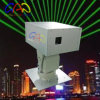 High Power Green Outdoor Moving Head Laser Landmark