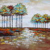 Abstract Oil Painting for Trees (ZH4012)