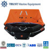 Marine 10 Person Throwing Overboard Inflatable Life Raft for Ship
