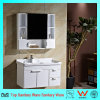 Wall-Mounted White Cabinet Series Oak Wood Bathroom Cabinet