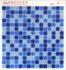 Blue DOT Glass Mosaic Cheap Price 4USD Per M2