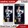 Mtk6582 Quad Core 1.2GHz Android 4.2.2 Haipai X3sw Smart Phone