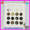 Women Coat Fashion Transparent Buttons Lady Coat Button (XDJZ-044)