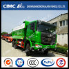 C&C Dump Truck with Cimc Huajun Cargo Box