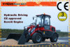 CE Approved Er16 Mini Wheel Loader with Snow Bucket