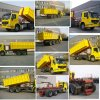 HOWO 30 Tons Load Hook Lift Garbage Truck