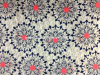100% Cotton Double Slubby Fabric with Printed for Garments
