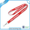 Cheap Flat Polyester Printed Lanyards with Plastic Buckle
