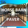 Heavy Duty Horse Walkway Floor Dog Bone Rubber Paver,