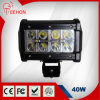 Teehon 40W Osram LED Light Bars Offroad Flood/Spot Beam for Jeep Car Truck Driving