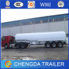 3 Axles 45000L Special Vehicle Fuel Tank Oil Tanker Truck Trailer for Sale