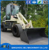 Ce Articulated 0.8 Ton Mini Front Wheel Loader with Rops&Fops Cabin Zl08