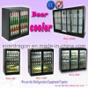 298L CE Approved Black Beer Cooler for Bar