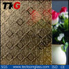 3-8mm Bronze Flora Patterned Glass with CE&ISO9001