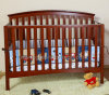 Wooden Convertible Baby Crib