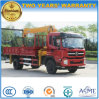 Shacman Lorry Truck Mounted 6t Straight Arm Crane Truck