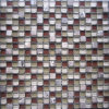 Stone Mix Crystal Glass Mosaic Tile (HGM334)