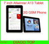 7inch Allwinner A13 Android Tablet with Bluetooth 2g GSM Phone (F761B)