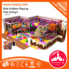 China Manufacture Indoor Playground Slide Circus Themed Children′s Playground Equipment