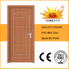 Good Sale Oak MDF PVC Bathroom Doors Price (SC-P048)