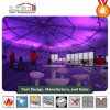 Clear PVC Latest Design Decagonal End Curved Tent for Sale