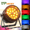 DJ Light 18X12W Rgbwauv 6in1 LED PAR Zoom Stage Light