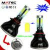 Fan Cooling High Power 80W 8000lm 9005 9006 LED Car Headlight