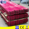 Color metal roof tile price, zinc roof sheet price
