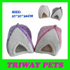 Soft Comfortable Coral Velvet Cat Bed (WY1610116)