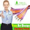 Webbing Wristband Belt No Minimum Order Polyester Sublimation Printing Lanyard