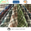 100% Polyester Men′s Jacket Check Lining Fabric Supplier