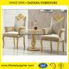 Hotel Luxury Golden Dining Throne Chair