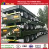 80ton Capacity Bulk Cargo Semi Trailer with Sidewalls/ Locks