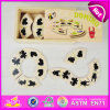 2015 New Cheap Wooden Domino Set Toy for Kids, Popular Wooden Toy Domino for Children, Hot Sale Wooden Domino Blocks Toy W15A010b