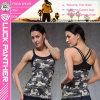Custom Dri Fit Sexy Women White Tight Fitness Workout Tank Top