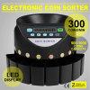 Electric Automatic Euro Coin Sorter Counter