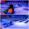 Full Glow-in-Dark Bowling Alley for Modern Bowling Center