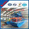 High Recovery Rate Bucket Gold Washing Dredger with Double Trommel Screen