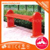 Modern Outdoor Stainless Steel Benches Red Park Benches