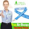 Wholesale Promotion Custom Jacquard Key Holder Lanyard as Business Gift