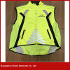 2017 New Design Good Quality Safety Hi Vis Fluorescent Yellow Vest for Motorcycle (V34)