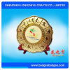Promotional Enamel Logo Embroidery Metal Plate