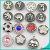 20mm Snap Button Alloy Charms Interchangeable Ginger Snap