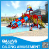 Swing Pool Water Slide Playground Equipment (QL-150707D)